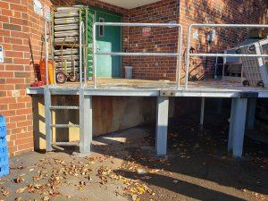 Loading Dock - Metal Fabrication- Crest Construction